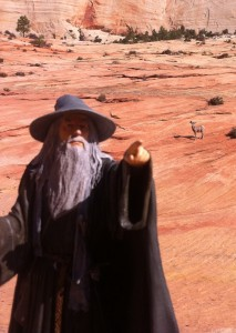 Gandalf in Bryce Canyon